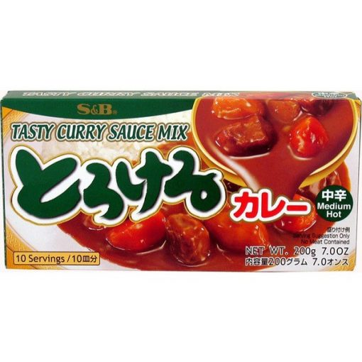 S&B Tasty curry MEDIUM HOT 200gr.