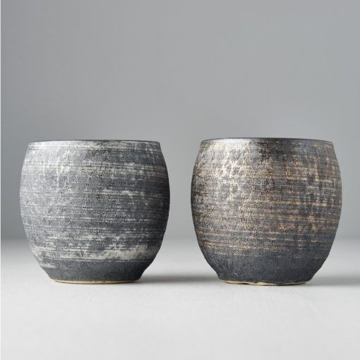Coppia di tazze da tè Touetsu Arita