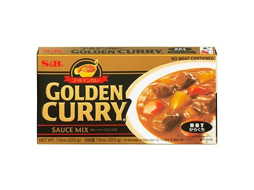 "S&B Golden Curry ""hot"""