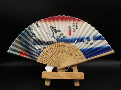 Sensu con monte Fuji - Hiroshige