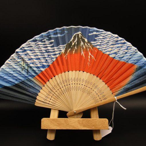 Sensu con monte Fuji - Hokusai