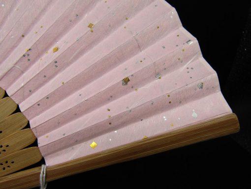 Sensu in carta washi rosa