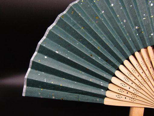 Sensu in carta washi verde
