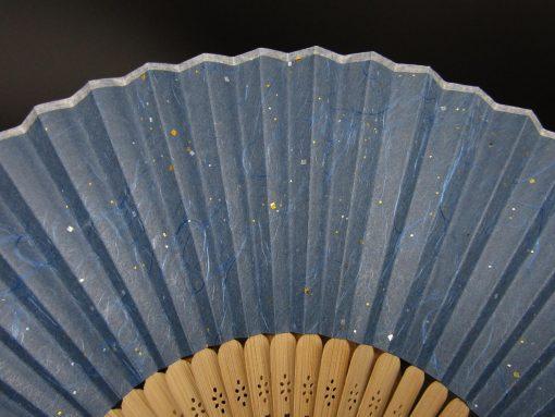 Sensu in carta washi blu